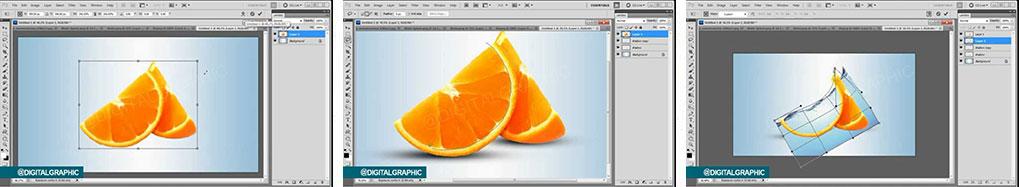آموزش تلفیق تنگ ماهی و پرتقال