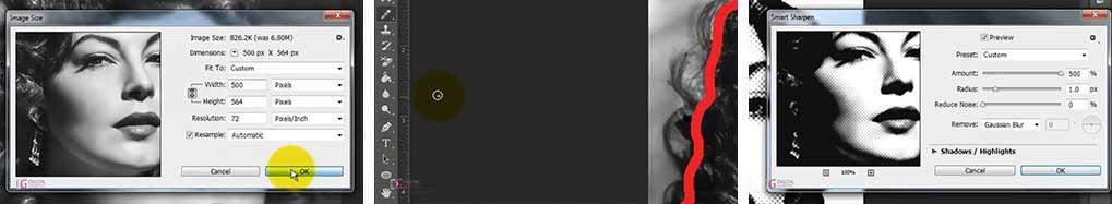 تبدیل عکس به کلیپ آرت در فتوشاپ
