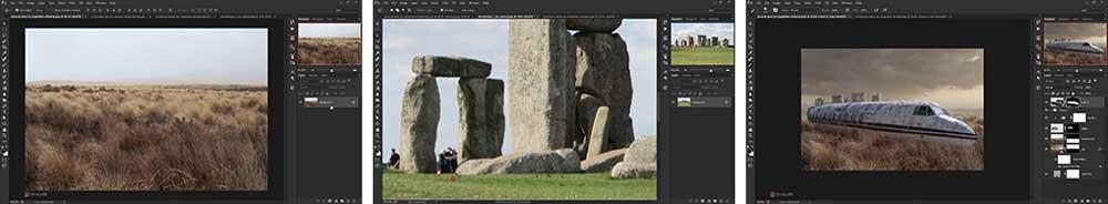 آموزش مونتاژ تصاویر در فتوشاپ
