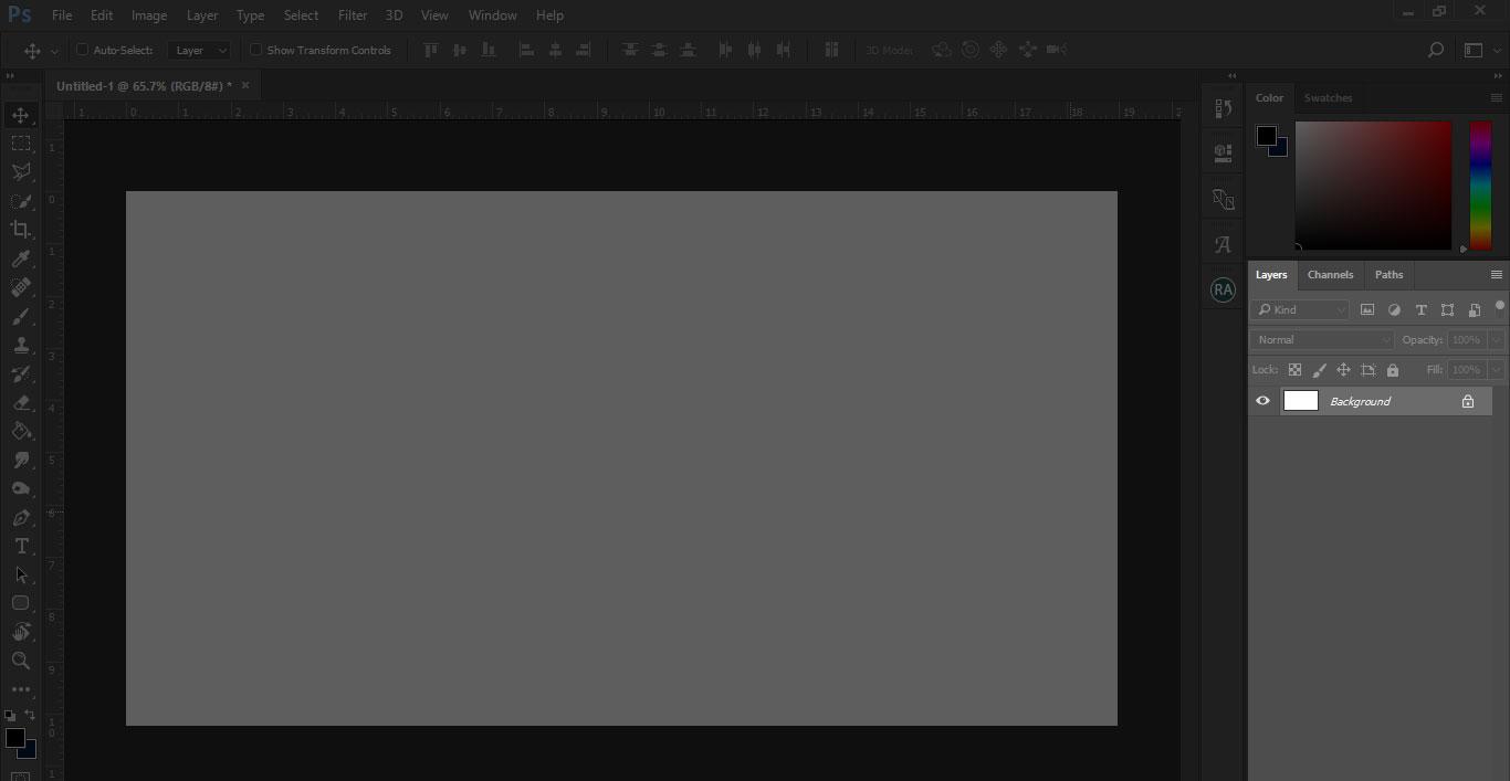 پنجره Layer ( کار با جدول لایه ها) :