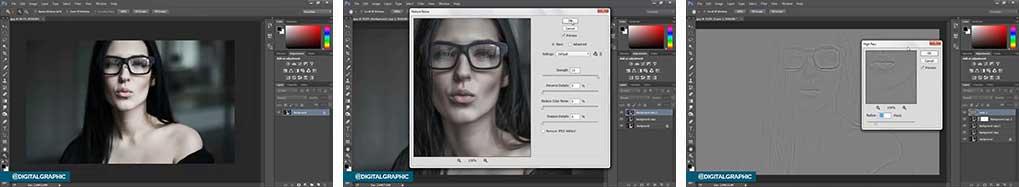 آموزش تنظیم نور عکس در فتوشاپ
