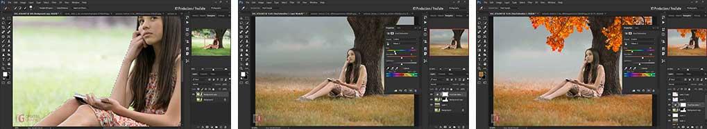 آموزش طراحی و رنگبندی عکس در فتوشاپ