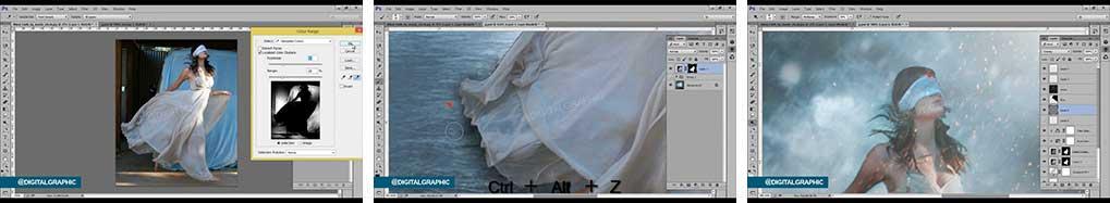 آموزش ساخت یک عکس غیر واقعی در فتوشاپ
