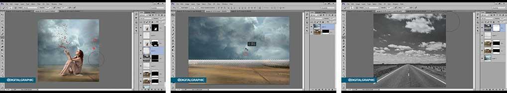 آموزش طراحی عکس فتومنتاژ