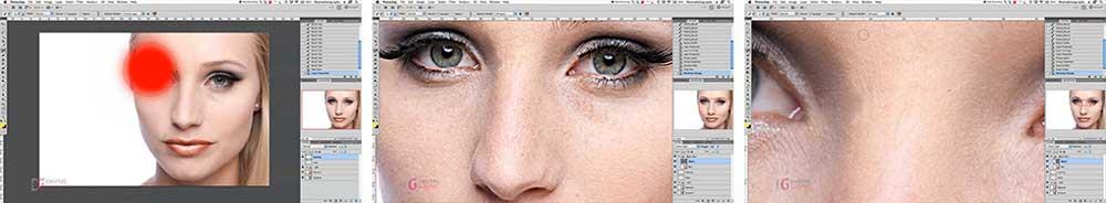 آموزش روتوش و اصلاح صورت در فتوشاپ