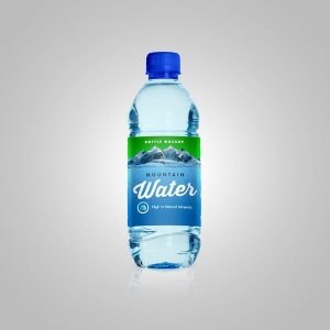 دانلود طرح موکاپ بسته بندی آب معدنی کوچک