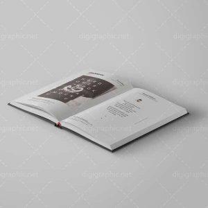 موکاپ صفحات کتاب