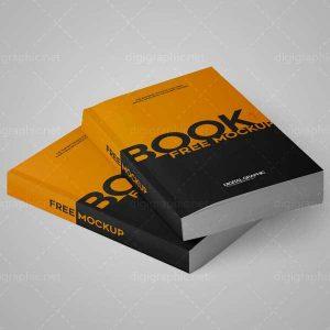 موکاپ دو کتاب