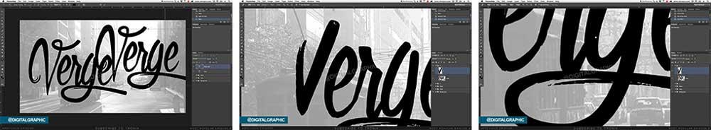 آموزش طراحی لوگو با فونت در فتوشاپ